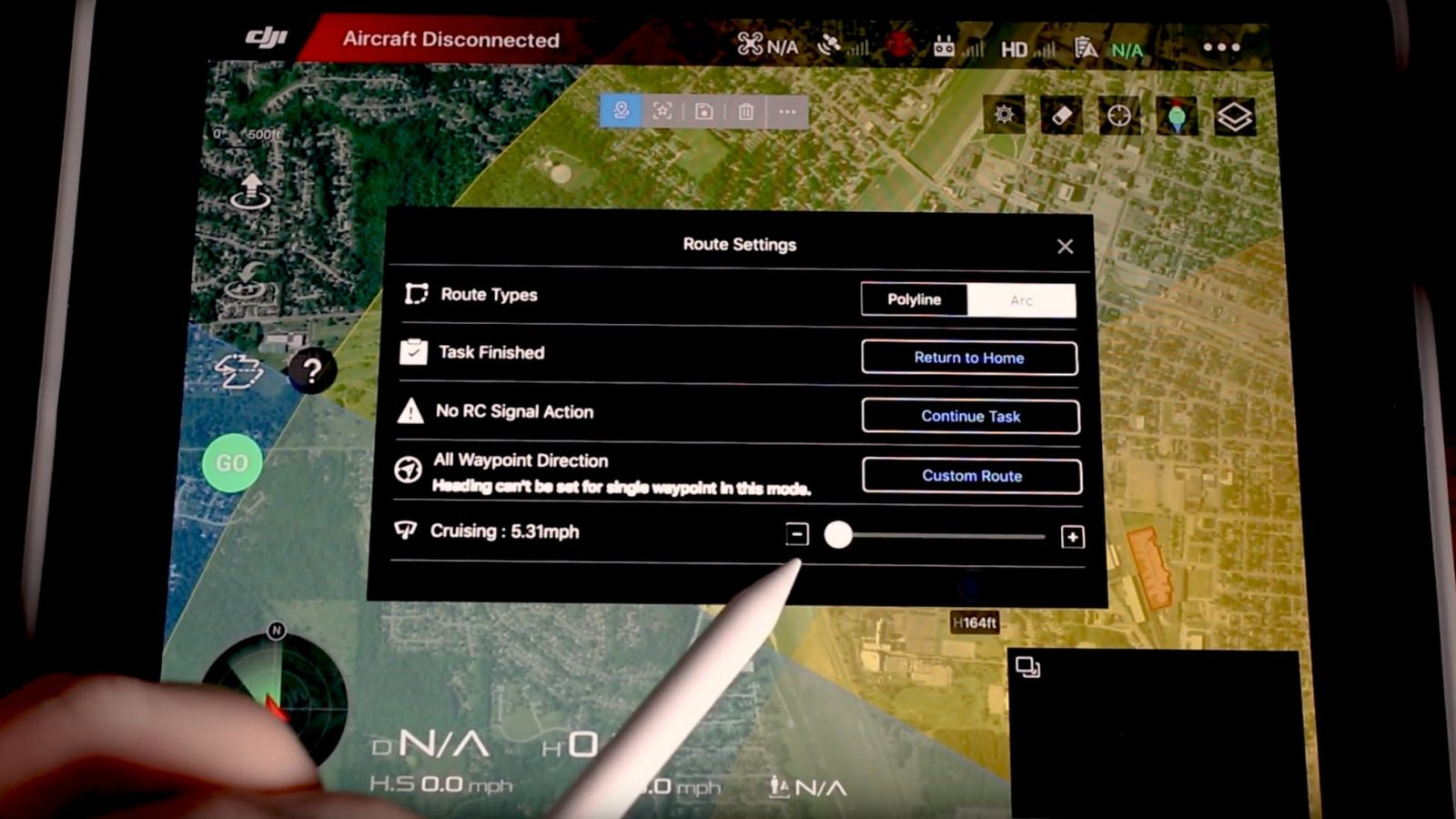 Waypoints for the Mavic 2 in DJI Go 4 app update [video