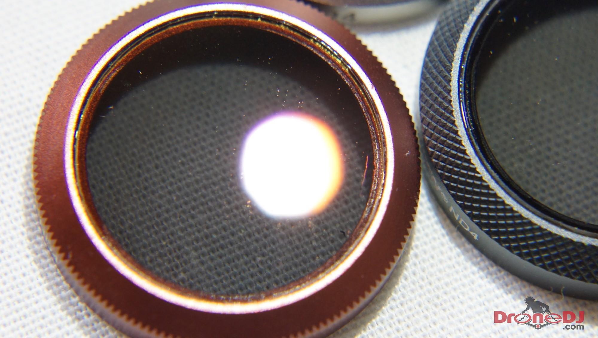 mavic 2 filter scratch test
