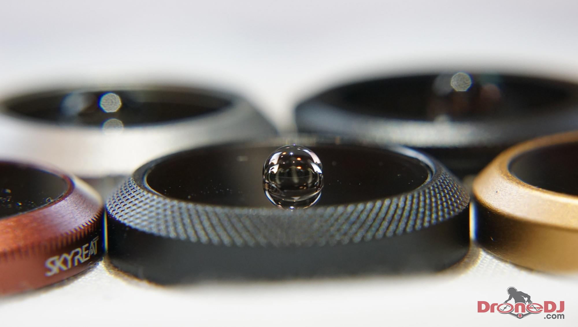 mavic 2 filter water coating
