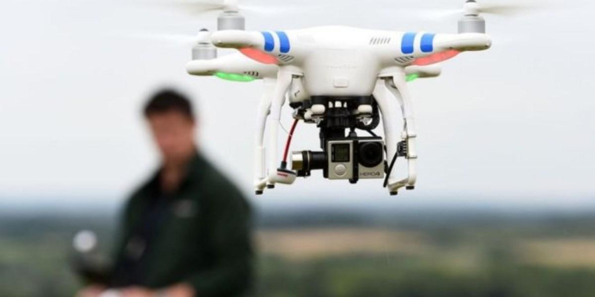 drones covid india