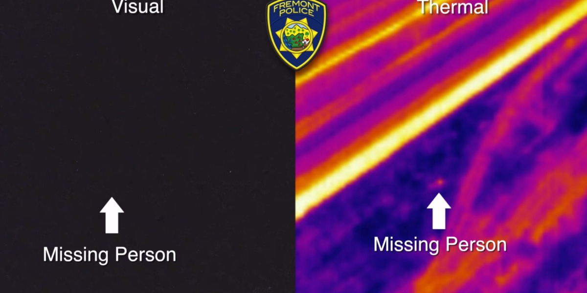 Fremont Police use drone with FLIR thermal camera to find missing teen