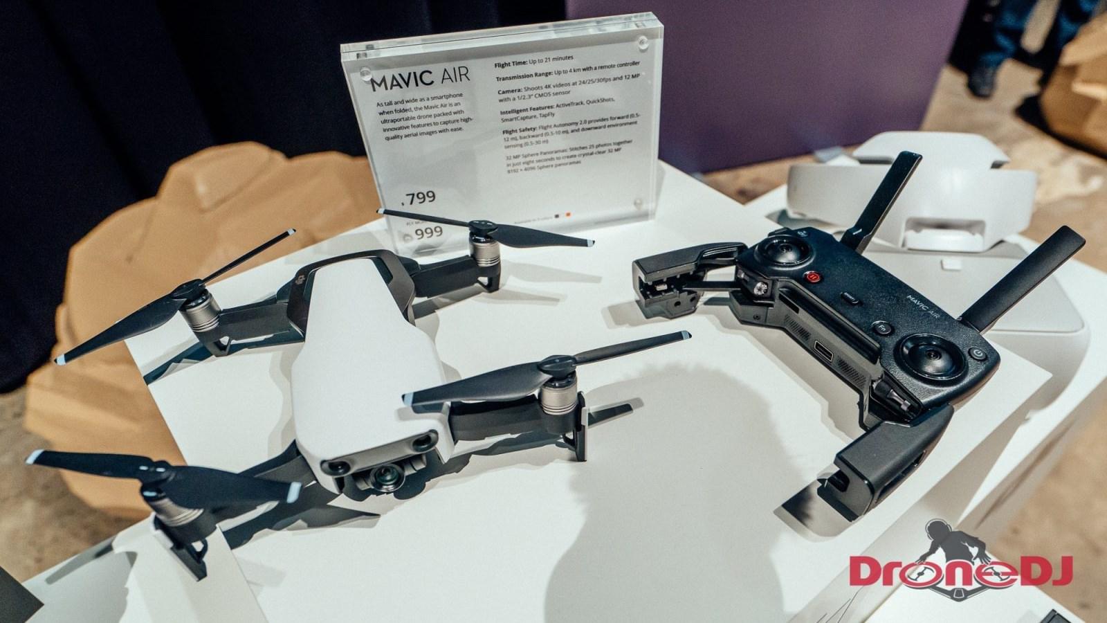 DJI Mavic Air firmware update released - v01 00 0560 - DroneDJ
