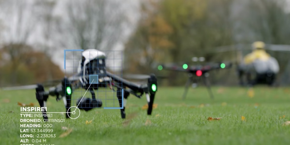DJI shows Aeroscope in Operation Zenith at Manchester Airport