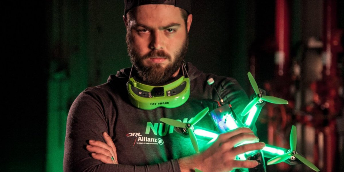 DRL interview with top drone racer, Nurk