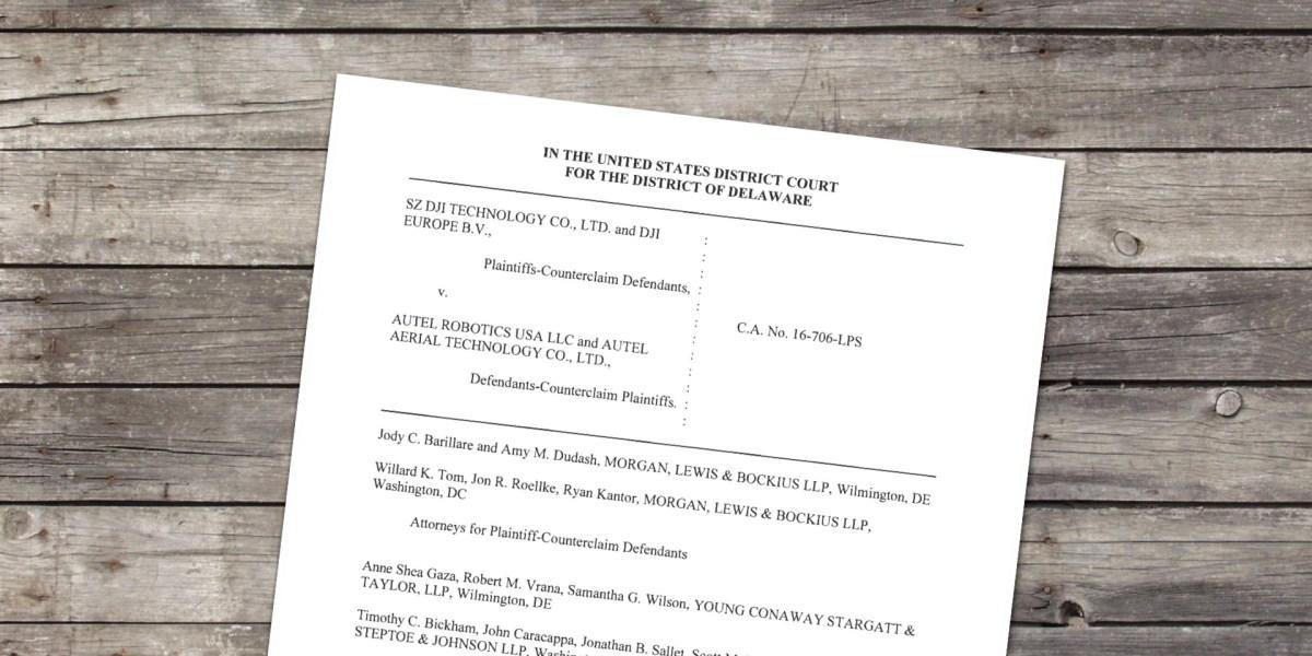 Autel's antitrust counterclaims against DJI dismissed