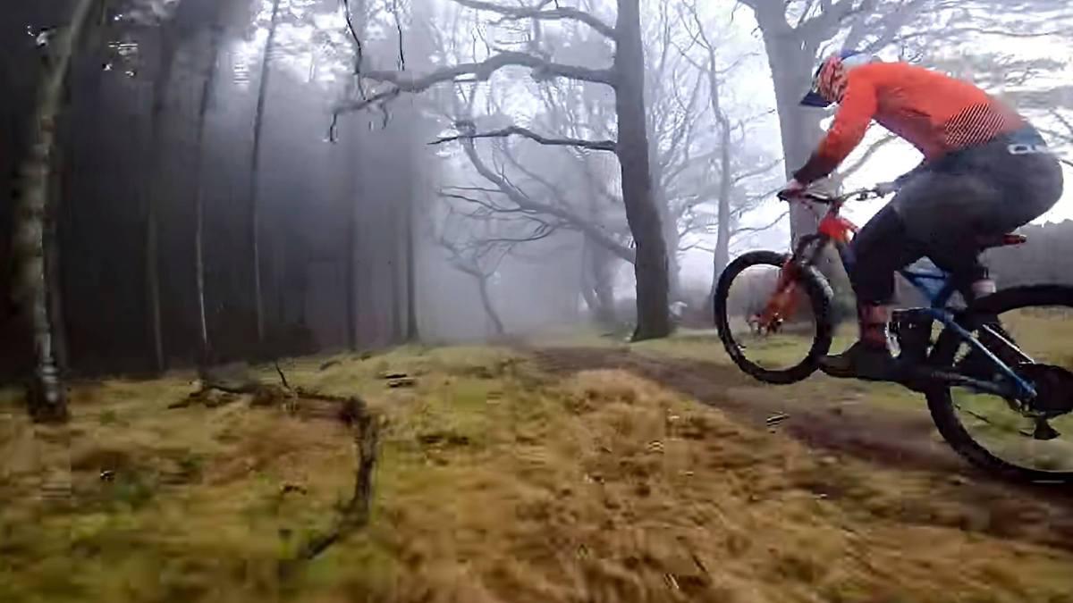 Drone video of today: MTB on Irish enduro trails