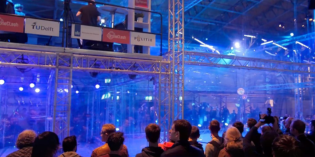 DroneClash: The drone fighting competition you've never heard of