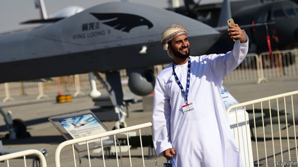 Growing appetite for armed drones in the Middle East