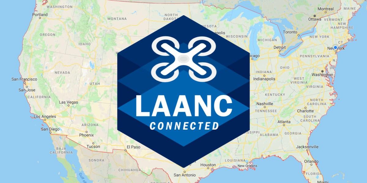 LAANC Part 107 drone pilots