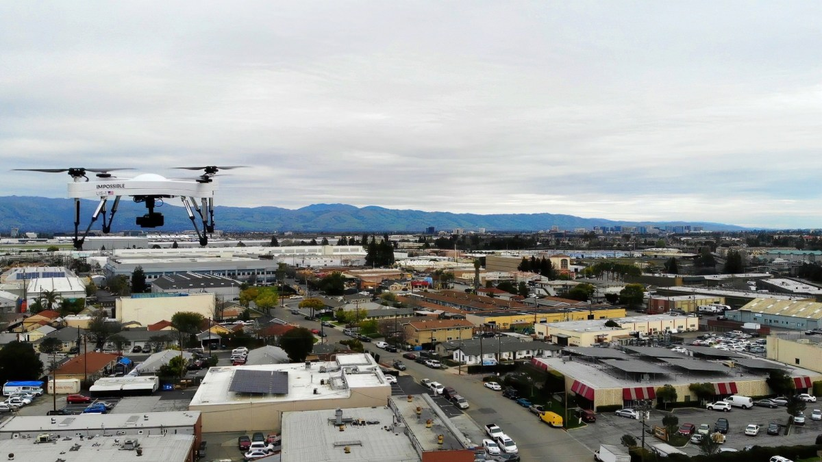 Impossible Aerospace provides 4K footage of US-1 drone in flight