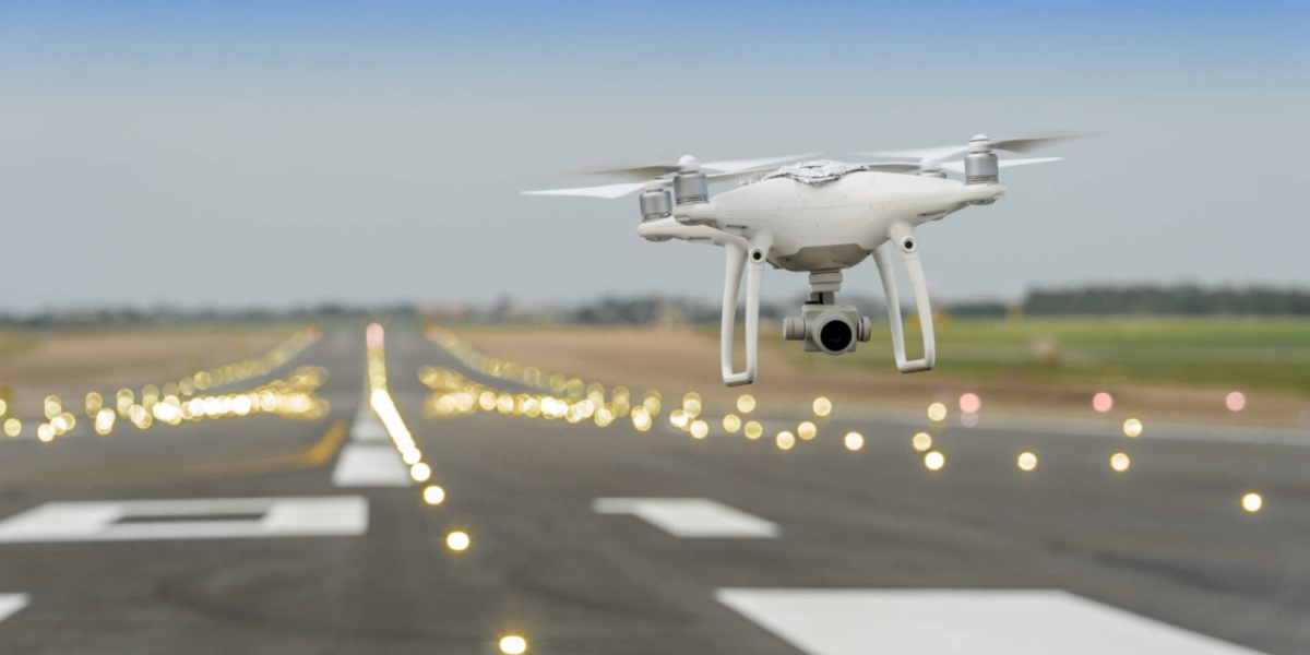The benefits of using drones at airports