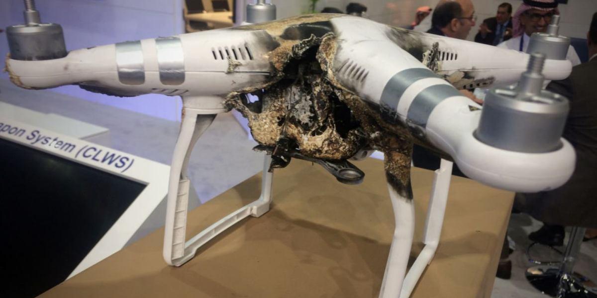 Weapons makers declare war on drones