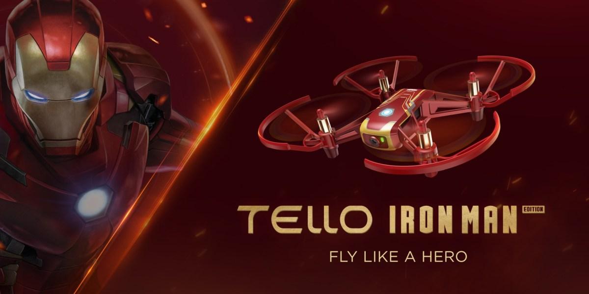 DJI, I mean Ryze introduces the Tello Iron Man Edition