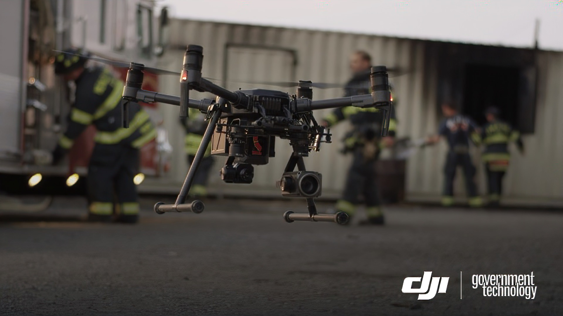 DJI and LAFD partnership to advance the use of drones