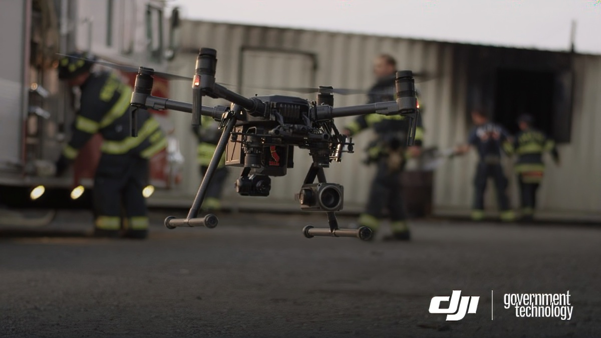 DJI and Los Angeles Fire Department partnership to advance the use of drones