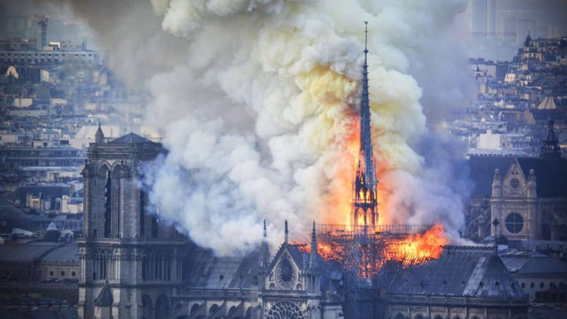 DJI drones helped firefighters put out Notre Dame inferno