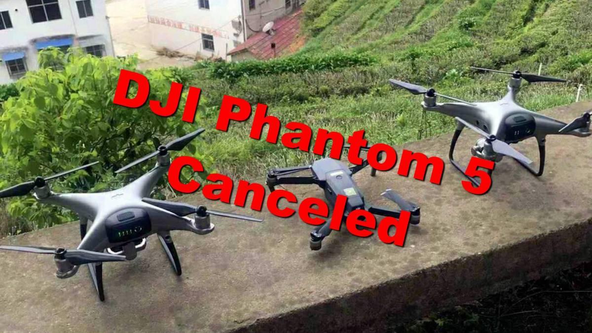 DJI rumors: DJI Phantom 5 canceled - Part 2