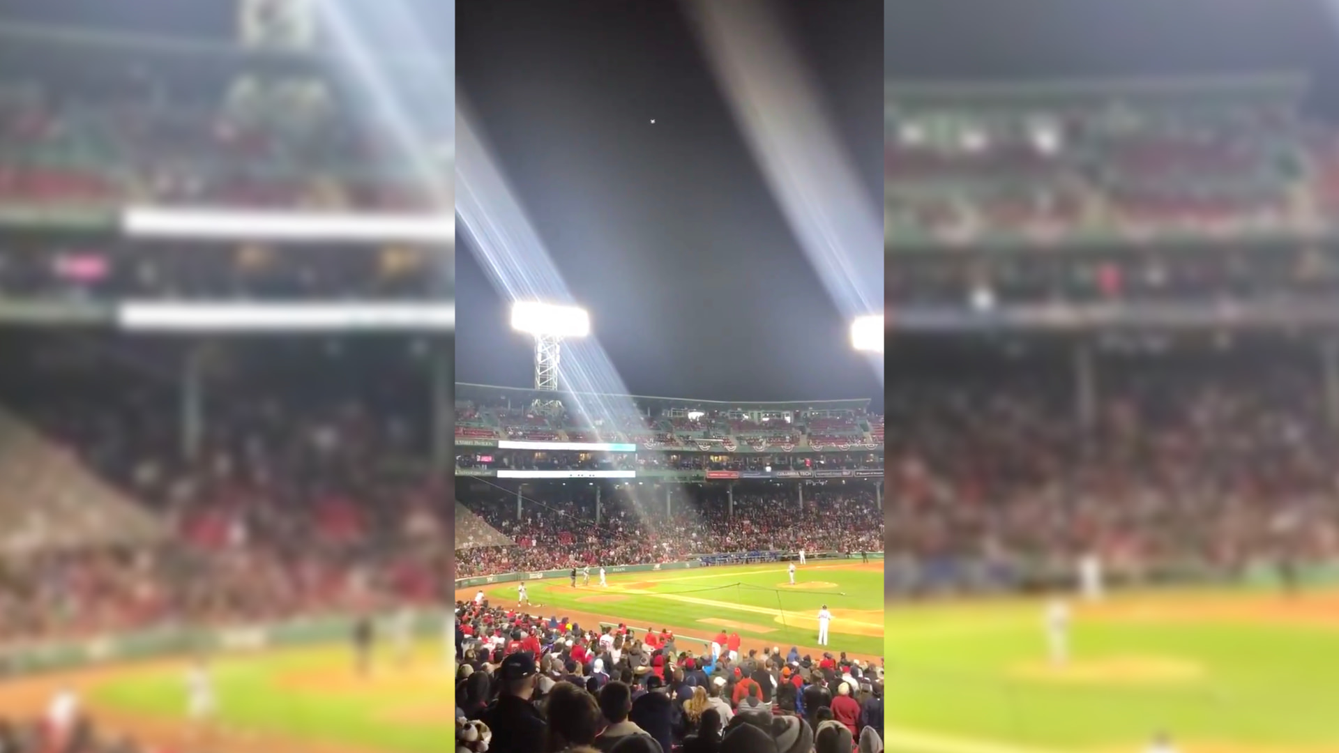 Drone illegally flew over Fenway Park during Red Sox game