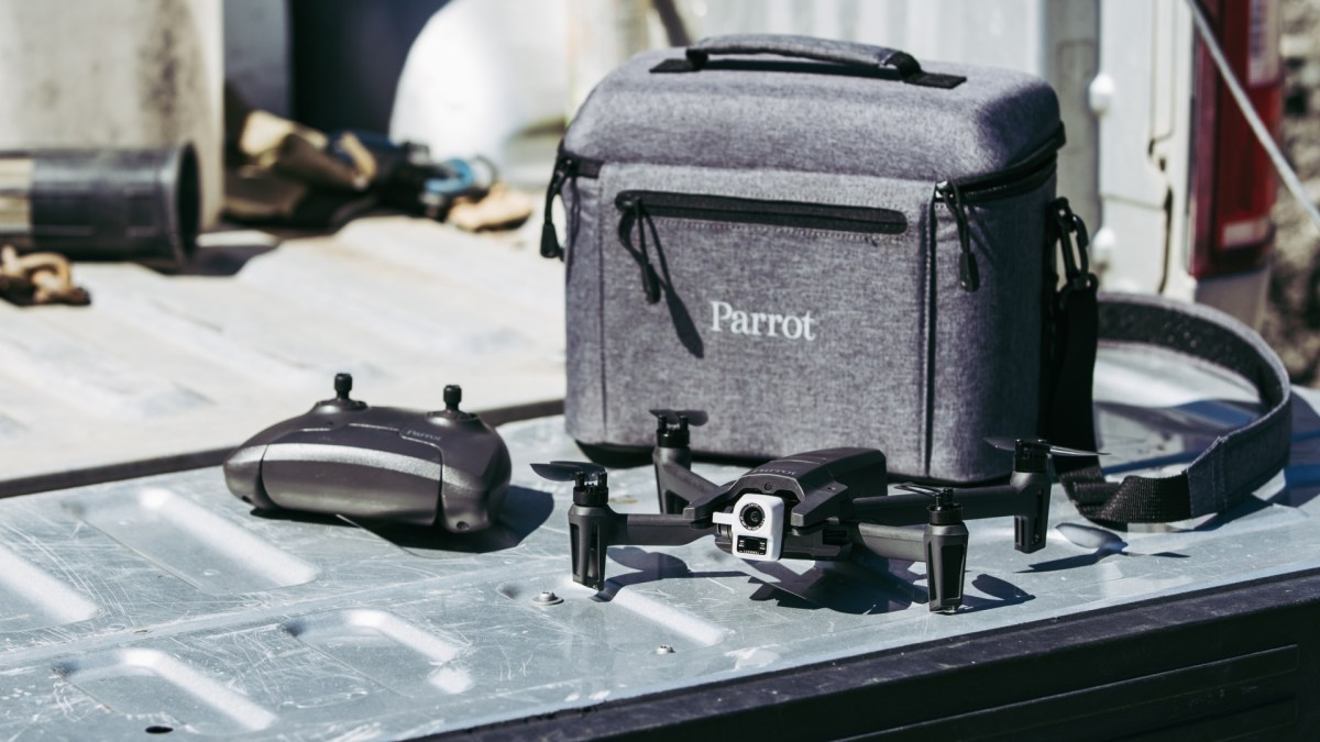 French drone maker Parrot launches the ANAFI Thermal