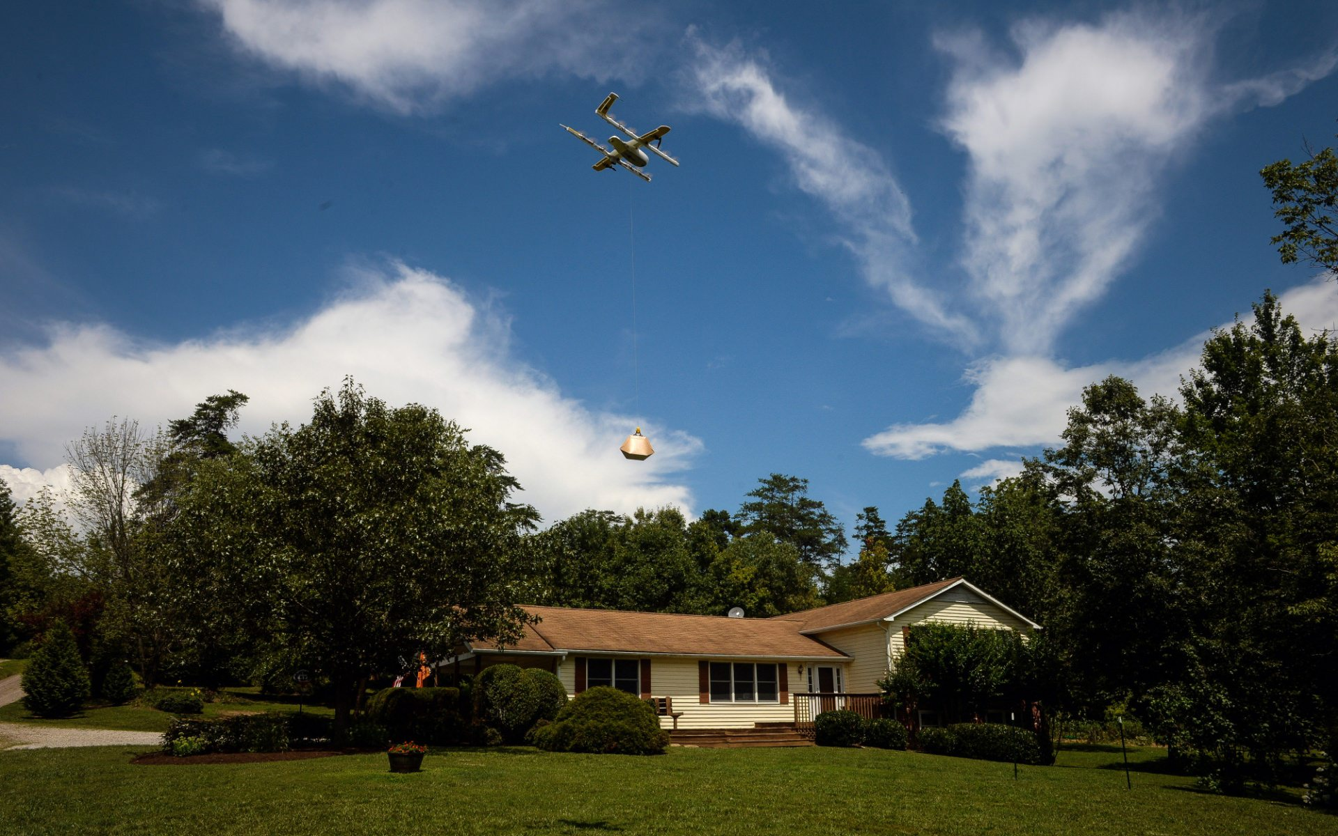 Wing Aviation gets first FAA approval for drone delivery service