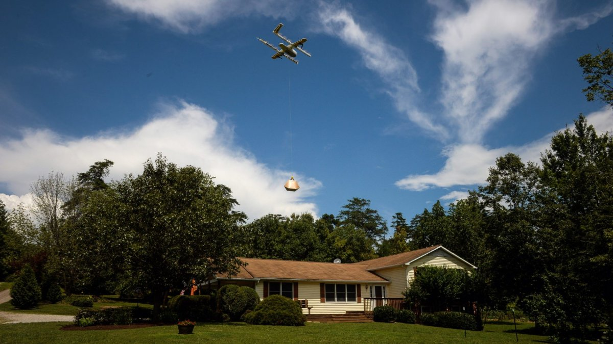Google's Wing Aviation gets first FAA approval for drone delivery service