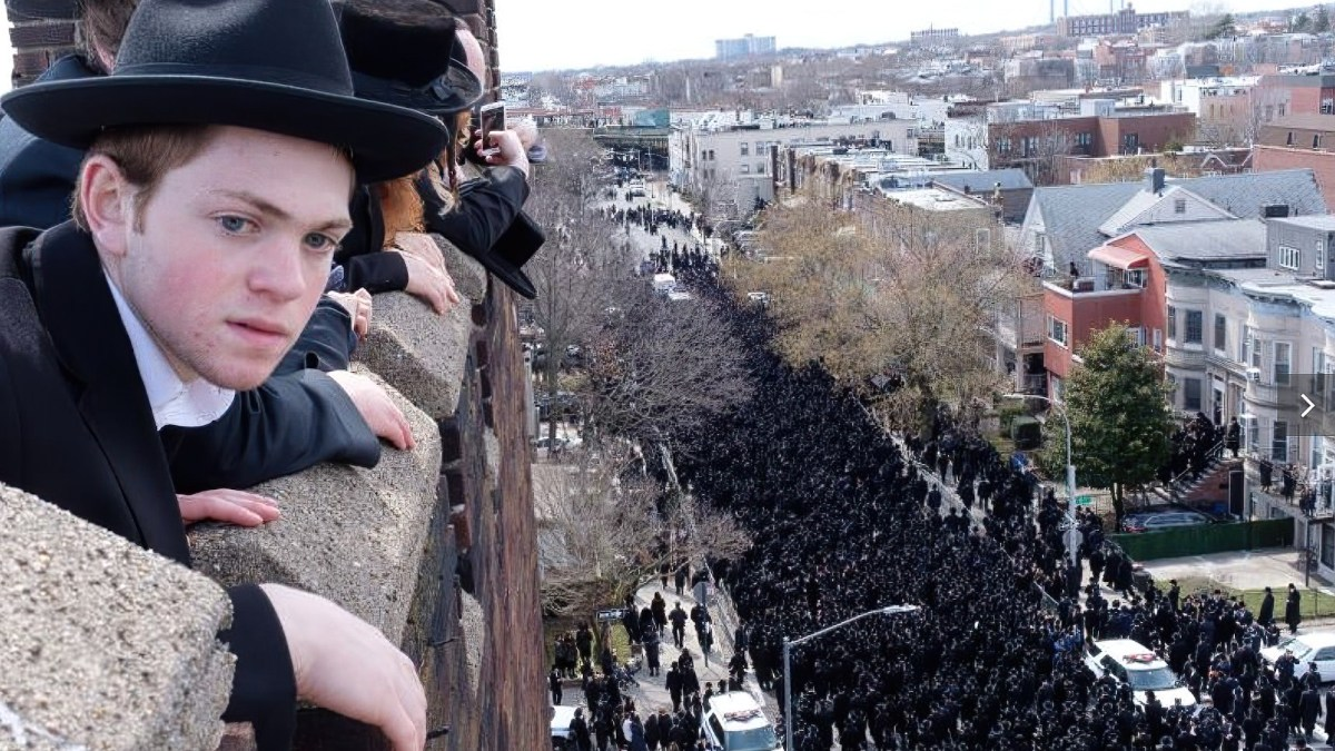 Illegally-flown drone hits NYPD officer on head during rabbi's funeral