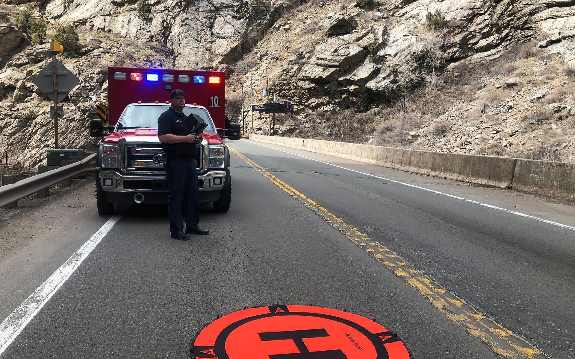 Injured hiker rescued from Clear Creek Canyon with help of drone