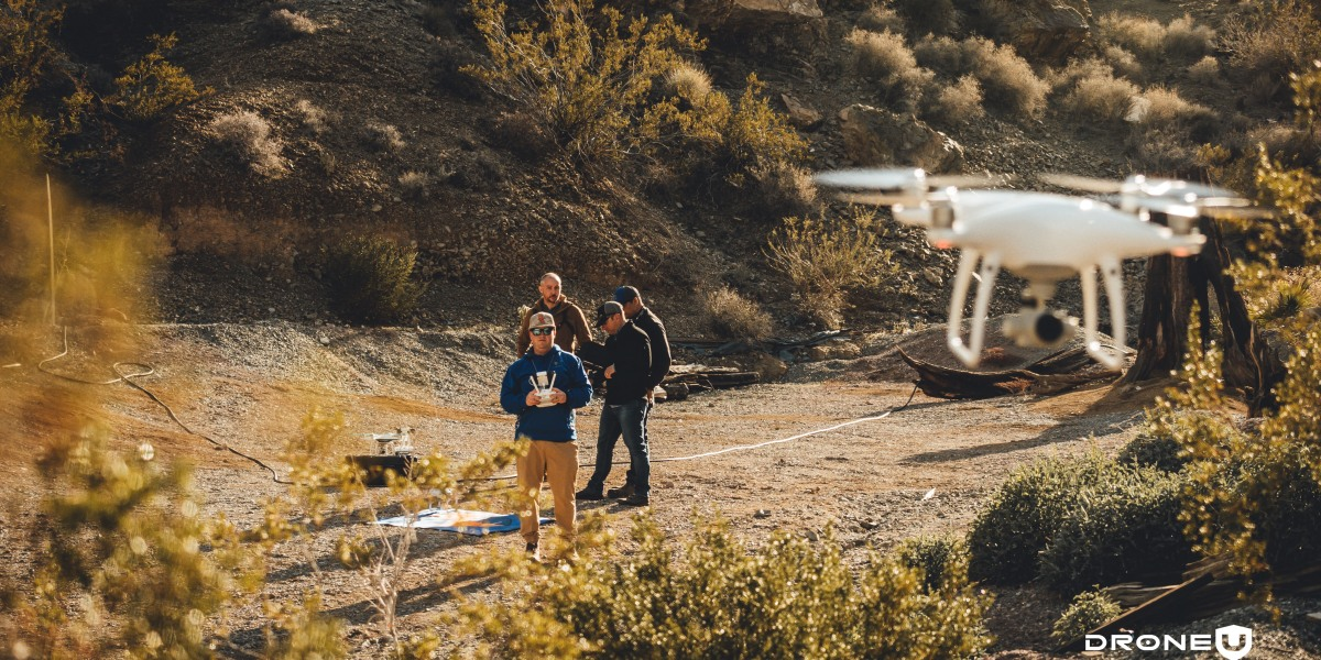 Global Shutter and attitude make the phantom the best drone
