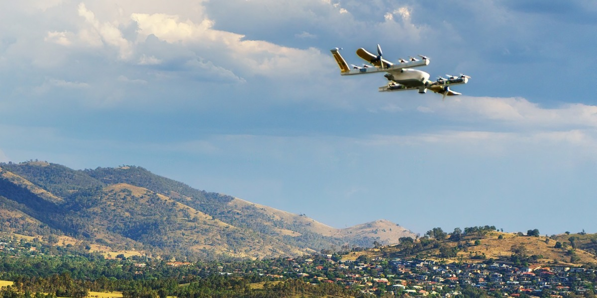 Wing made its first delivery by drone with approval from Australian Civil Aviation Authority