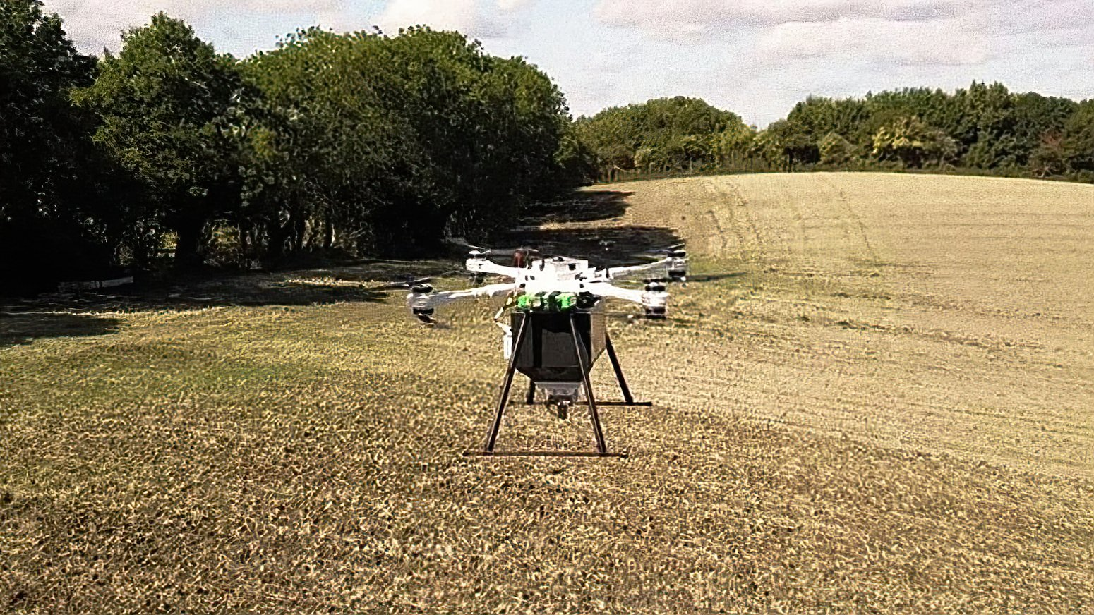 Without drones, planting a billion trees would take a long time