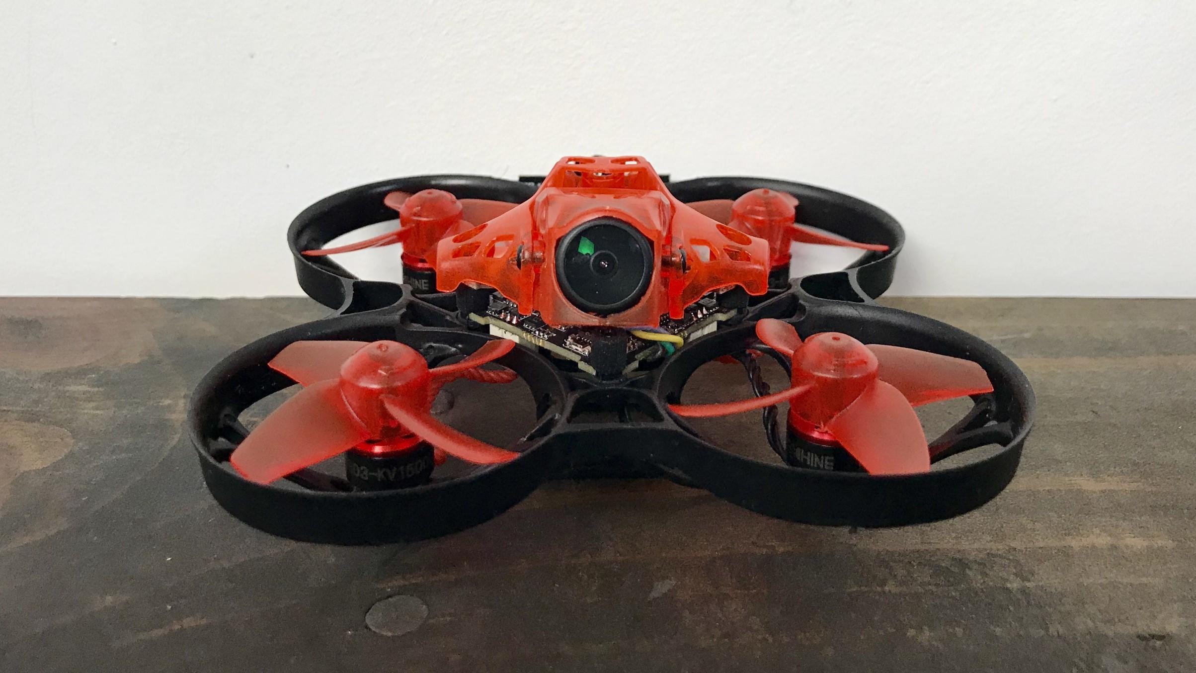 trashcan quadcopter