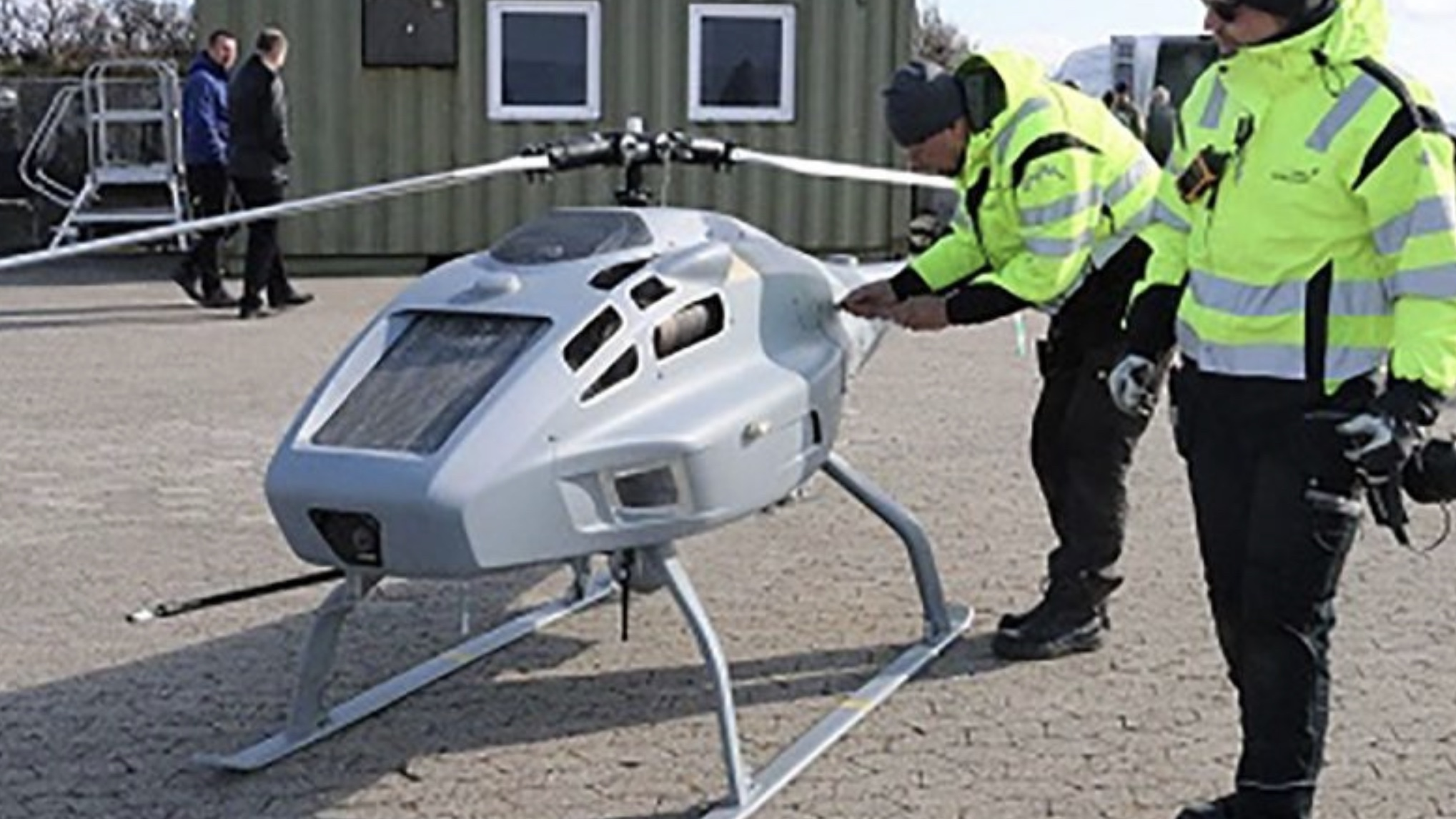 Denmark to deploy drones to detect shipping sulphur emission levels