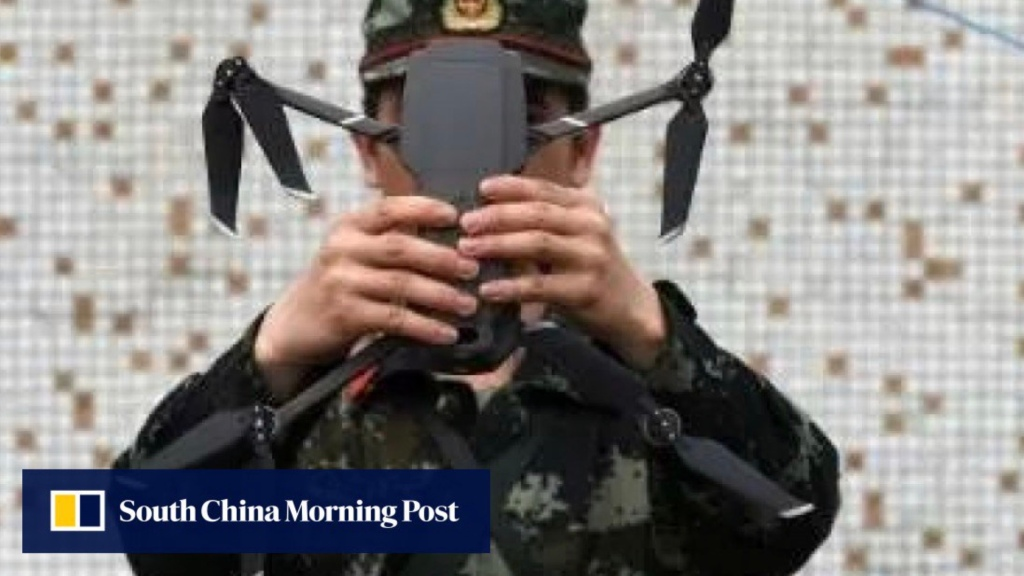 Chinese police stop smuggling operation that used drone