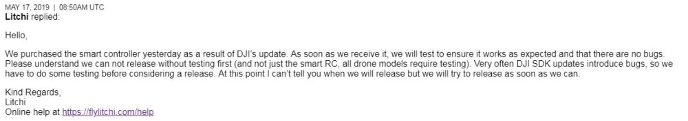 DJI releases SDK for Smart Controller  Expect Litchi update