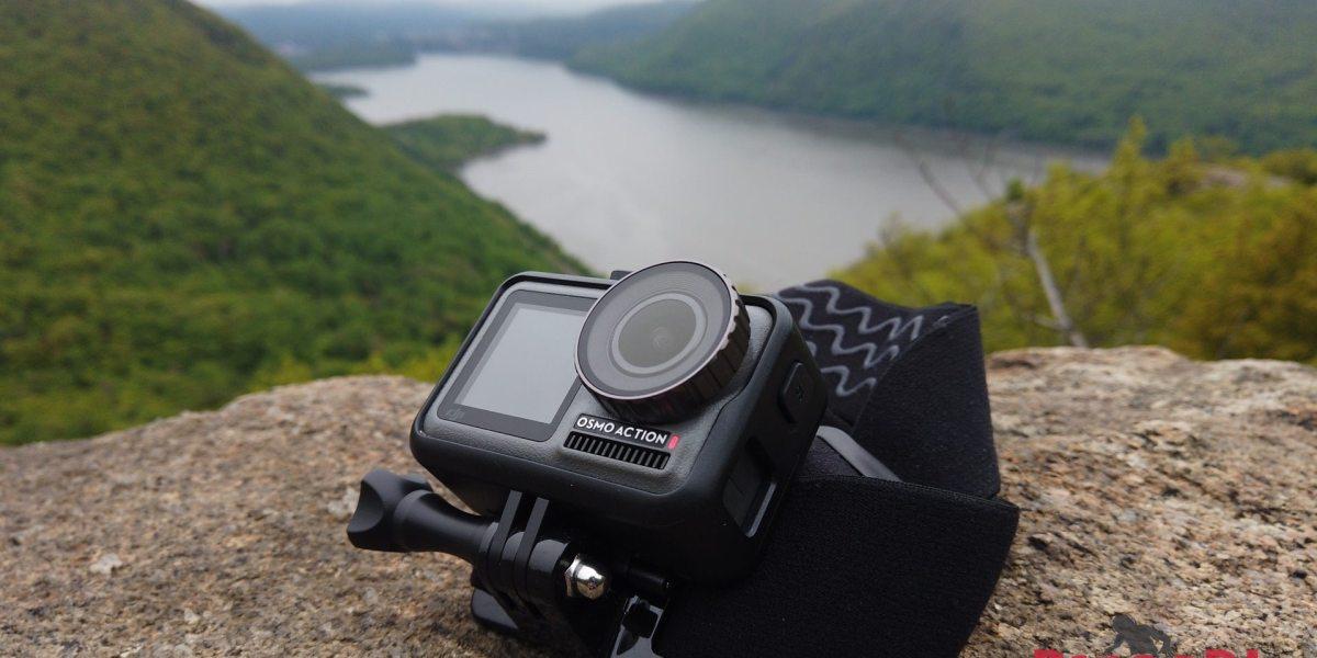 DJI Osmo Action camera with dual-displays