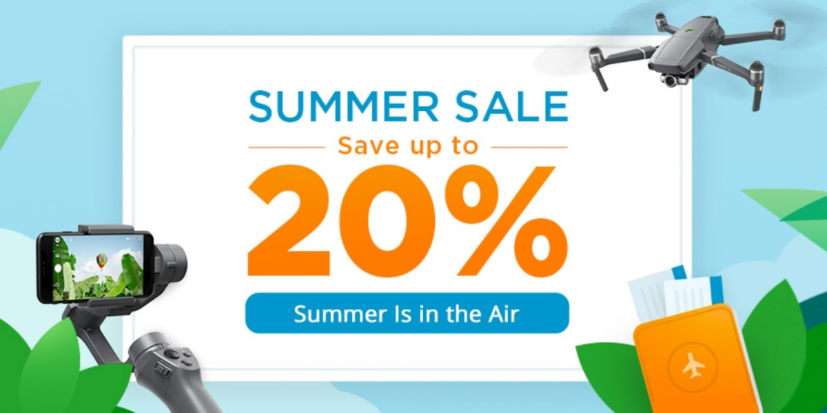 DJI Summer Sale: discounts on Mavic 2 Zoom, Mavic Air and more