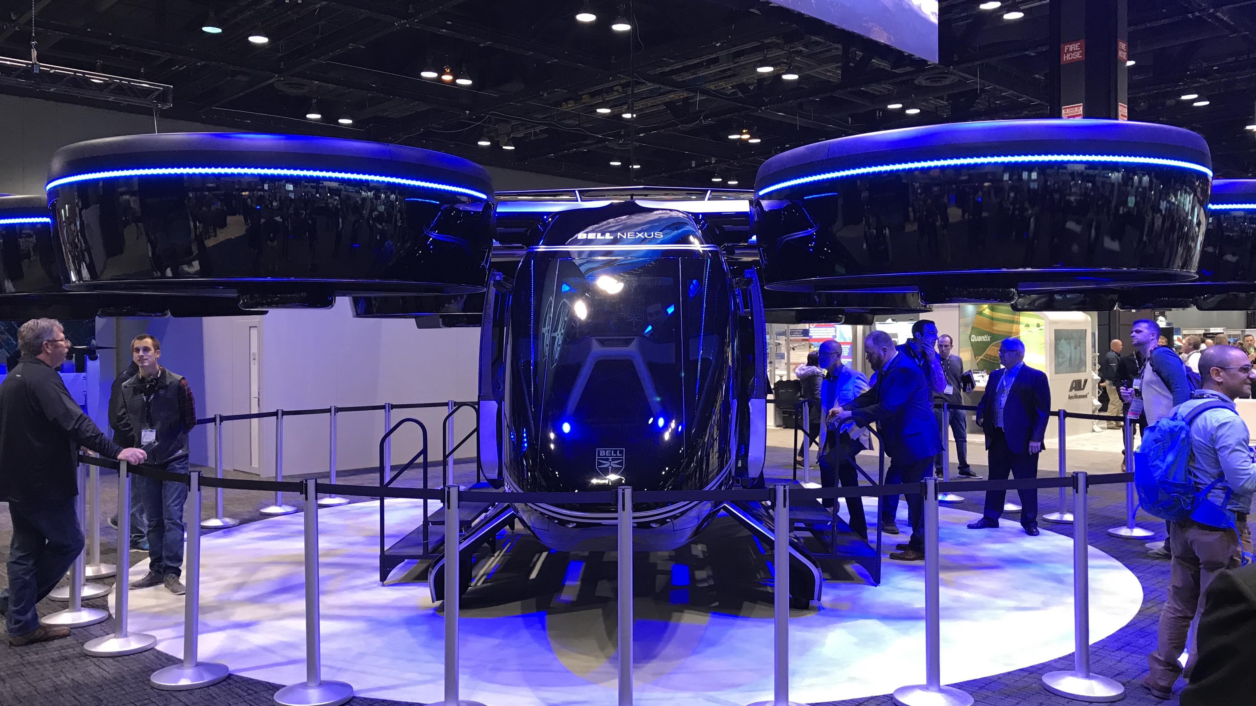bell nexus drone