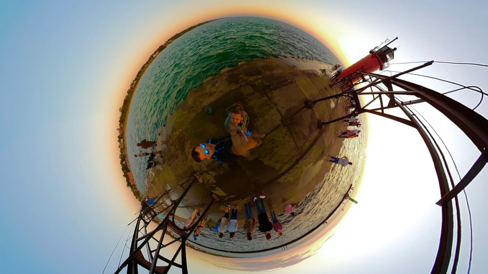 Pilot Era Tiny Planet Sunset