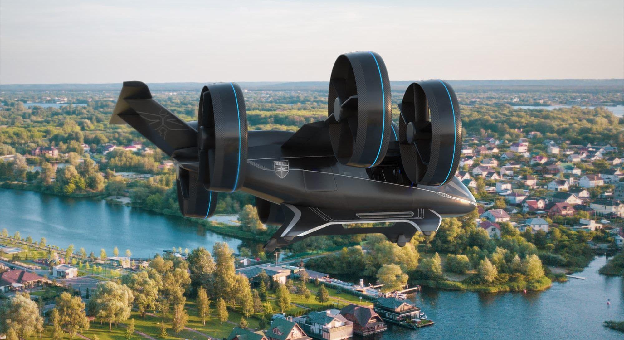nexus bell passenger drone