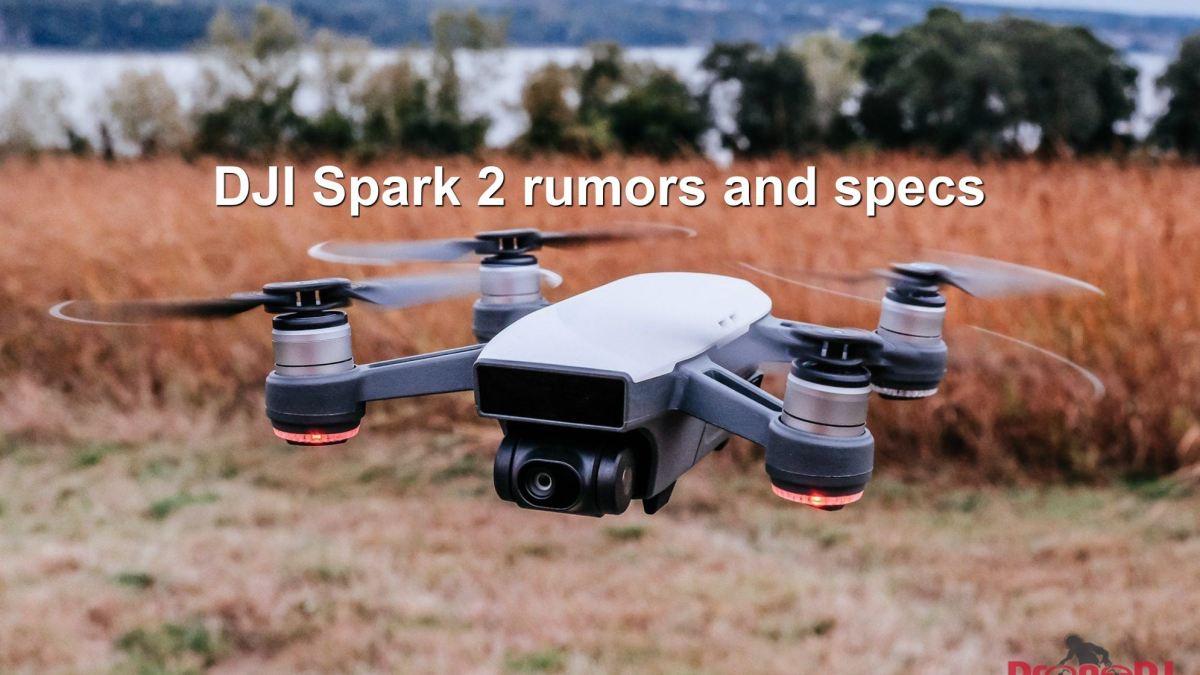 DJI Spark 2 rumors