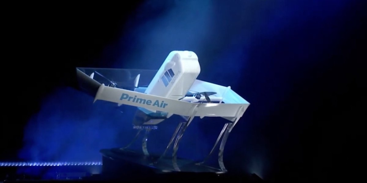 Amazon Prime Air introduces new drone that will deliver packages within months lays off employees