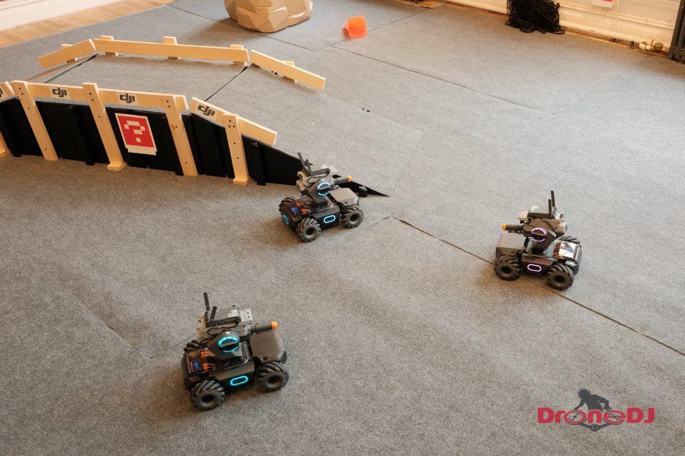 DJI RoboMaster S1 battle