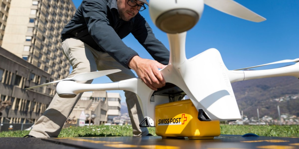 Deliveries by drone are taking off in health care