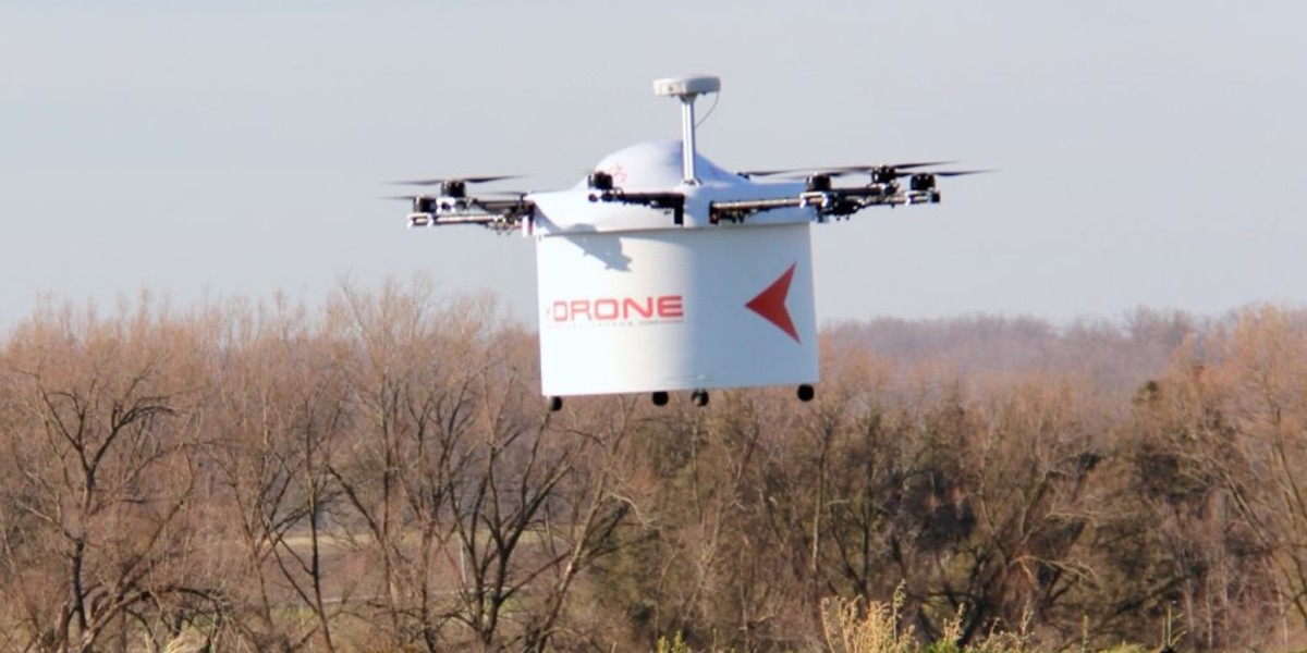 Drone can deliver an AED faster than ambulance