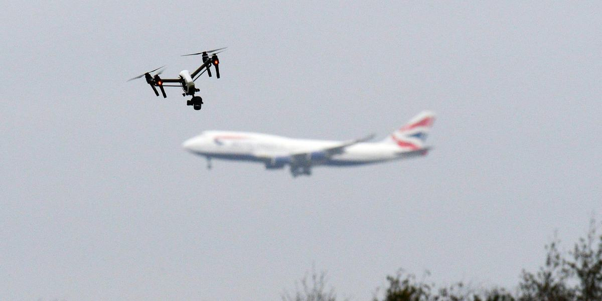 Drones disrupt flights near East Midlands Airport in the UK