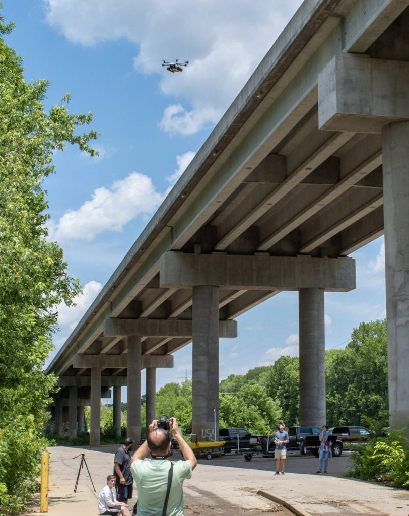 Drones used to inspect troubled bridges in South Carolina