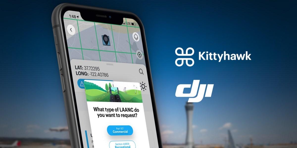 DJI recommends free Kittyhawk LAANC service for recreational pilots