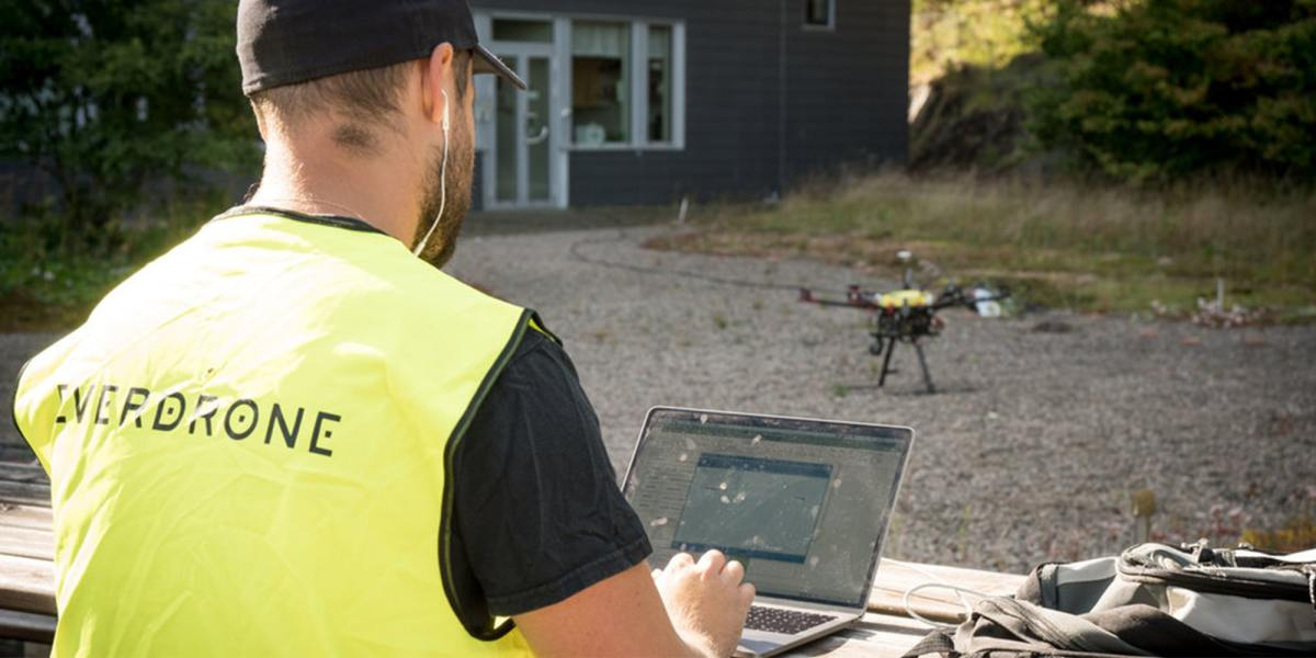 Everdrone drone delivery sweden