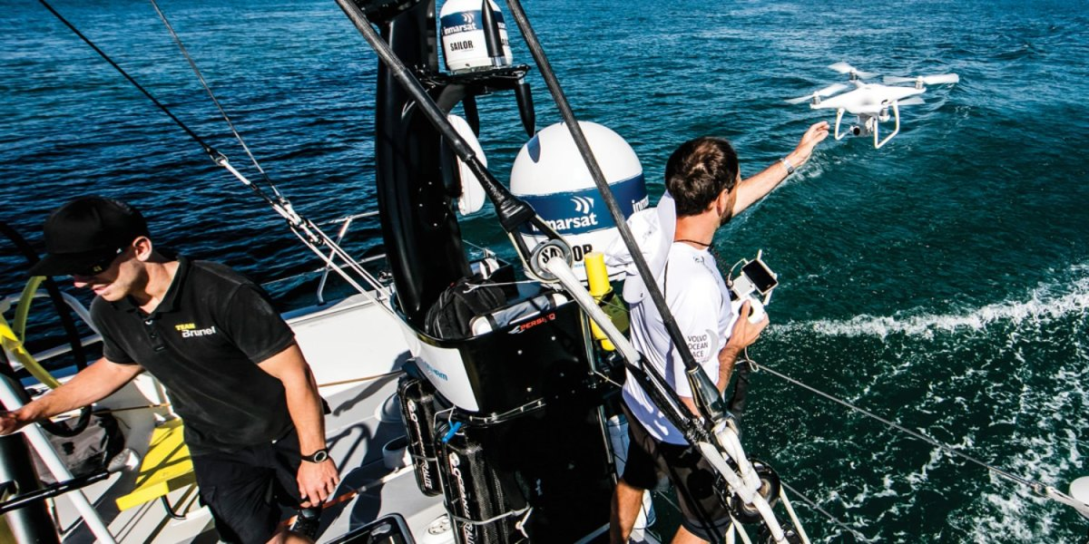 How to fly your DJI drone from a sailboat