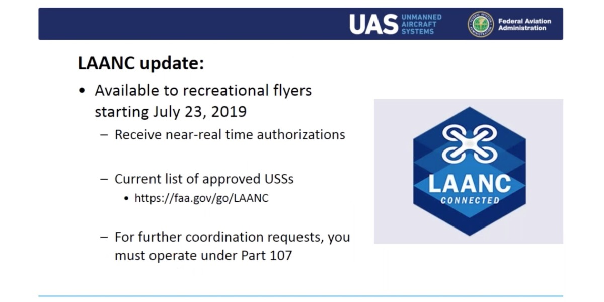 LAANC will be available to hobbyist drone pilots on July 23rd